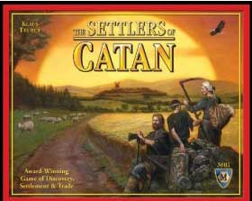 The Settlers of Catan Strategy Board Game